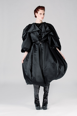 Puff Ball Dress Coat